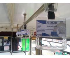 Inchiriez spatiu publicitar in tramvaie