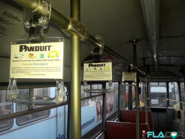 Publicitate in tramvaie - 1/4