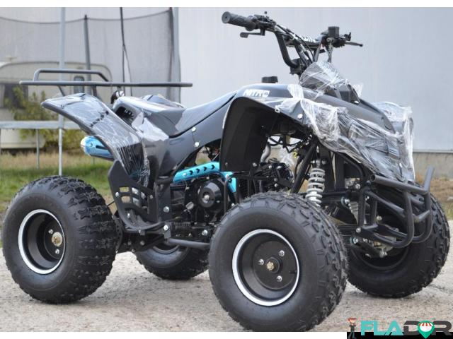 Atv Montain Warrior 125 cc Roti de 8 inch - 1/3