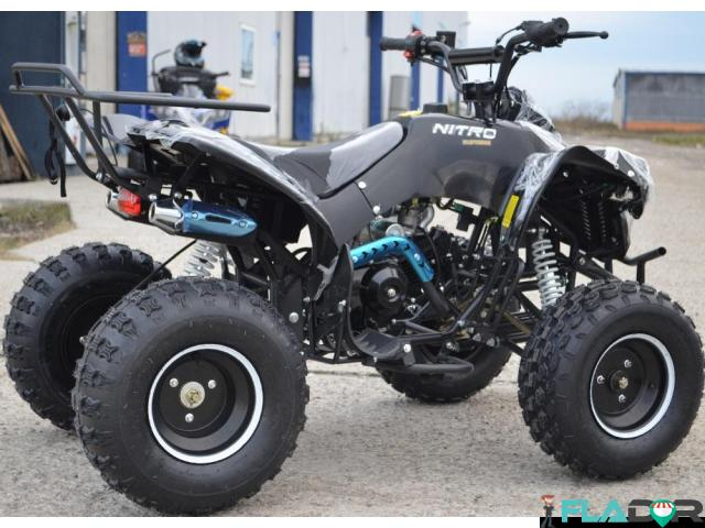 Atv Montain Warrior 125 cc Roti de 8 inch - 2/3