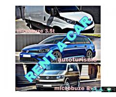 Inchirieri auto Timisoara / Rent a car Arad - autoturisme si microbuze