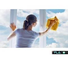 Oferta de primavara pentru curatare si spalare geamuri