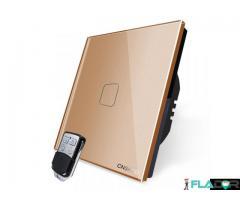 Intrerupator simplu wireless RF touch cu telecomanda Cnskou