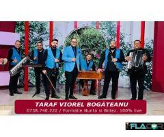 Taraf Viorel Bogateanu. Formatie Nunta si Botez. Muzica 100% live. Evenimente, petrecere, aniversare