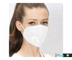 Masca respiratorie FFP2 KN95 cu Valva in Stoc