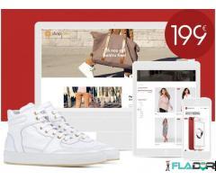 Realizare Magazin Online 100% Responsive - 199 EUR