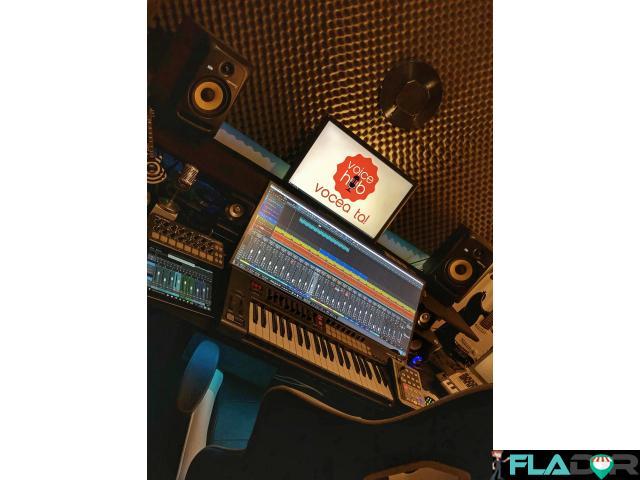 Studio de inregistrari VoiceOver / Spoturi Audio / Reclame - 1/4