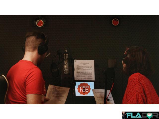 Studio de inregistrari VoiceOver / Spoturi Audio / Reclame - 2/4