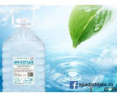 Apa distilata cu puritate ridicata