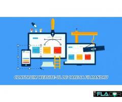 Creare site web, web design, editare fotografii, seo