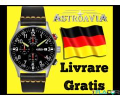 Ceas German Astroavia Pilot Aviatie Bratara Piele