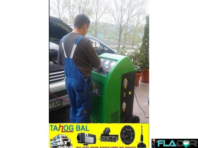 Incarcare Freon Auto Noul Gas Ecologic R1234YF / R134A - 5/6