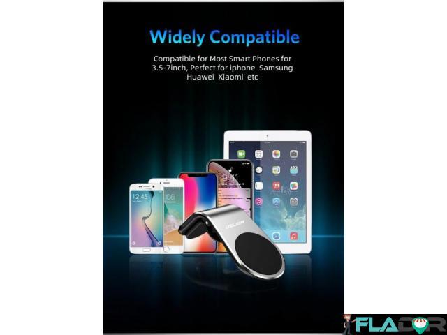 Suport Auto Magnetic Neodim pentru Telefon, Tableta sau GPS - 2/5