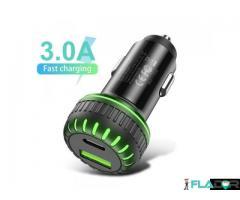 Incarcator auto usb fast charge 3.1a - Imagine 1/6