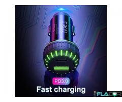 Incarcator auto usb fast charge 3.1a