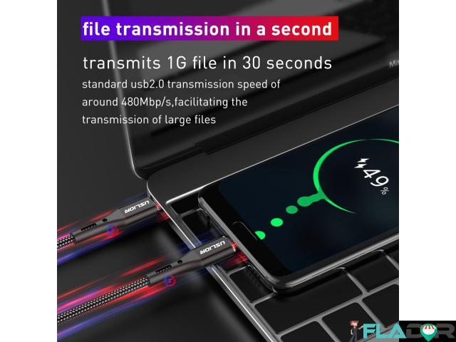 Cablu usb ultra charge tip c - 5/6
