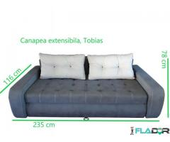 Canapea extensibila, masiva, calitate premium Zalau