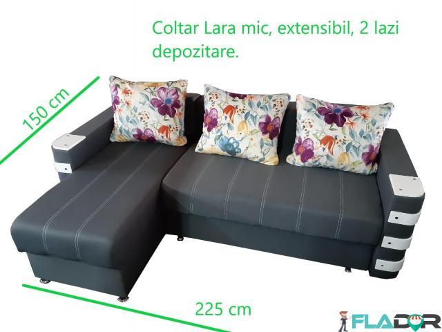 Coltar mare, Zalau, extensibil, nou; 300x165, garantie 2 ani - 2/5