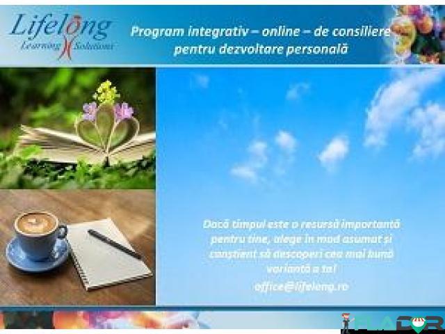 Program individualizat de consiliere online pentru dezvoltare personală - 1/1