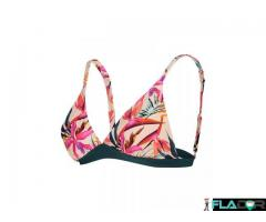 Sutien pentru plaja Nadine Tropical Floral Noppies