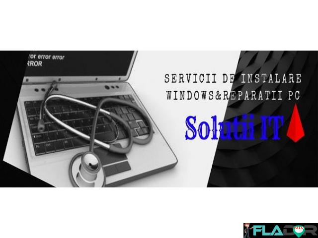Servicii de Instalare Windows si reparatii PC - 1/1