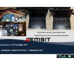 Curatare Laptop de praf Timisoara