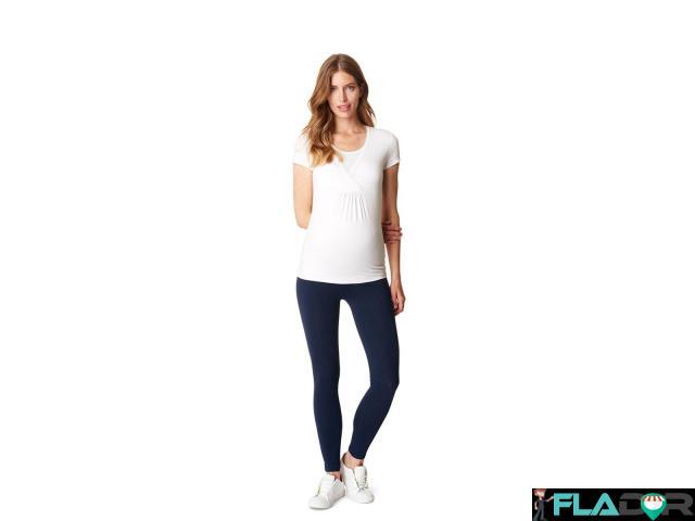 Colanti/leggings gravide bumbac organic Esprit - 3/4