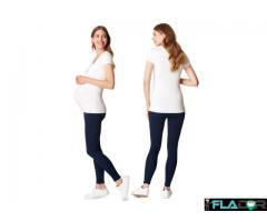 Colanti/leggings gravide bumbac organic Esprit - Imagine 4/4