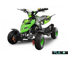 ATV 49cc Nitro Python 6 Electric Start NEGRU IMPORT GERMANIA
