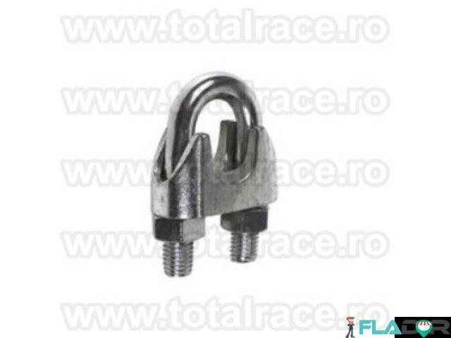 Brida metalica de strangere cablu Total Race - 3/6