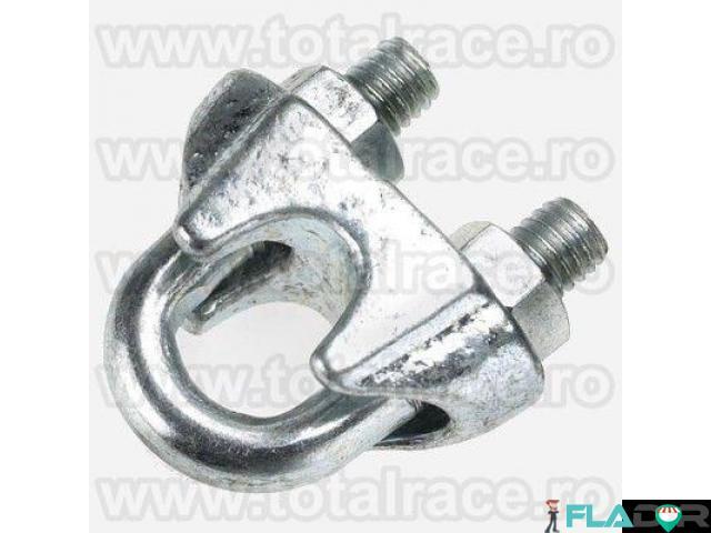 Brida metalica de strangere cablu Total Race - 5/6