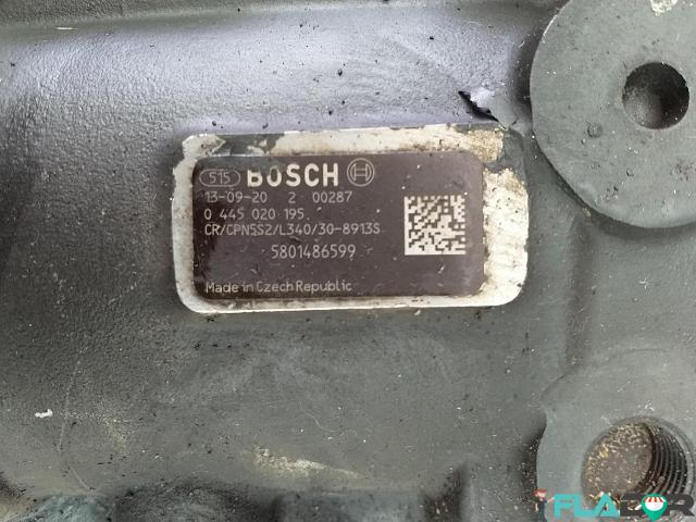 5801486599 Bosch 0445020195 Pompa Inalta Presiune Iveco Stralis AD AS AT Trakker AD New Holland T9 - 2/4