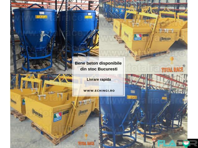 Bena beton utilaje de constructii livrare stoc Bucuresti - 1/6