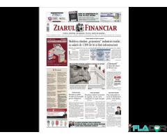 Cumpar Ziarul Financiar 30 Sept 2015