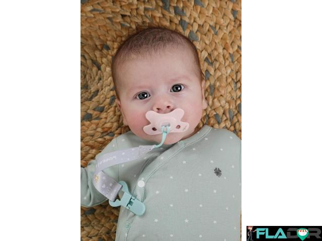 Suzeta Blossom Pure pentru bebelusi 0-6 luni - 2/2