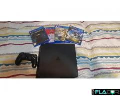 Ps4 Slim 1Tb +4 jocuri cadou
