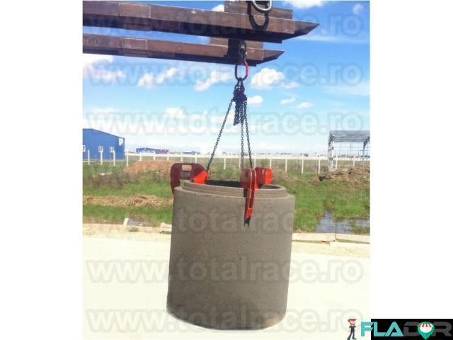 Clesti de ridicat tuburi beton pentru canalizare Total Race - 1/6