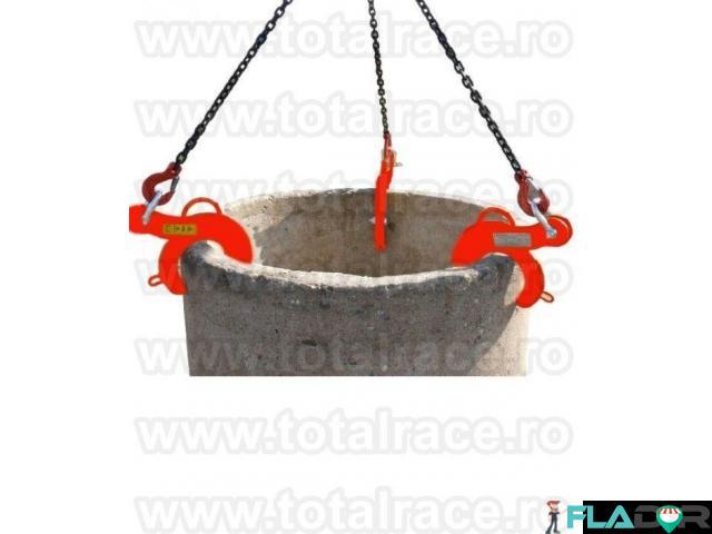 Clesti de ridicat tuburi beton pentru canalizare Total Race - 3/6