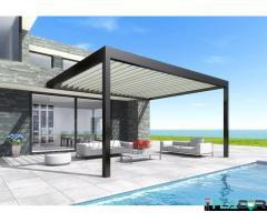 Pergole retractabile model Classic, pentru terase rezidențiale sau HoReCa
