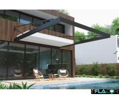 Pergola retractabila model Urban pentru terasa