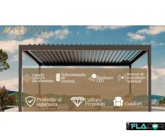 Pergola cu acoperis retractabil model Freedom
