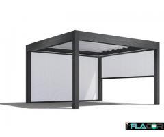 Umbrire tip Zipscreen pentru terase