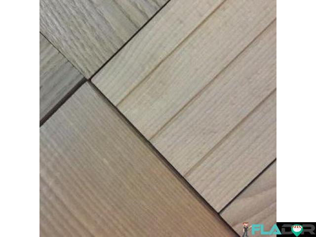 Cu Decking WPC si lemn termotratat - 3/4