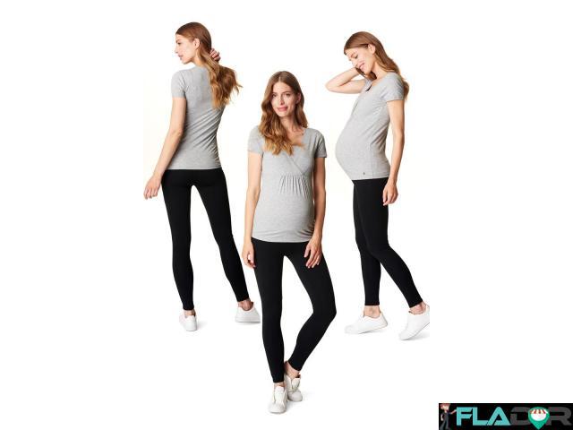 Colanti/leggings gravide bumbac organic Esprit - 2/3