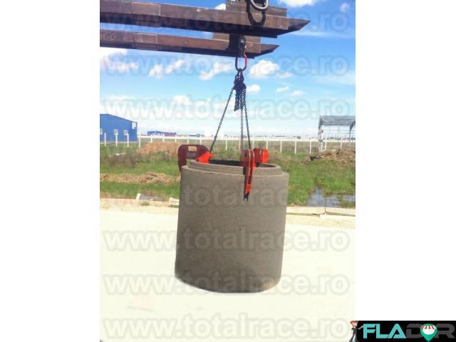 Dispozitive pentru transport tuburi de beton Total Race - 4/5