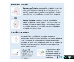 Test rapid multiplex testare Covid-19 si gripa Influenza A/B - Imagine 2/3