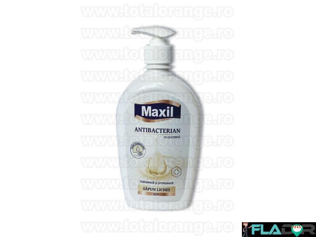Sapun lichid antibacterian cu glicerina Maxil - 2/2