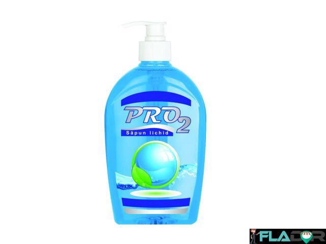 Sapun lichid maini PRO2 albastru 500 ml - 1/1