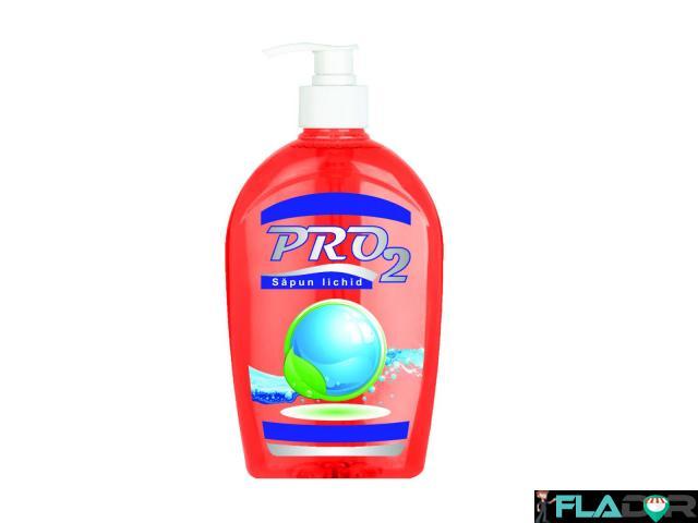 Sapun lichid maini PRO2 roz 500 ml - 1/1