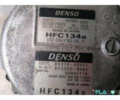 88370-48021 042000-0231 Compresor de aer condiționat Lexus RX Hybrid Toyota Camry 3.0 - Imagine 2/5